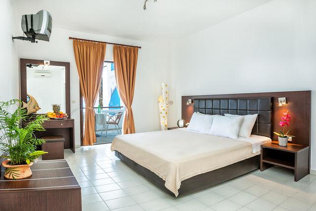 Dolphin Beach Hotel - Двойна стая супериор с изглед към градината